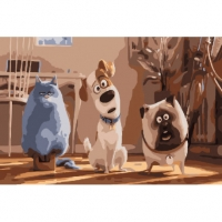 Картины по номерам 40х50 Домашние животные