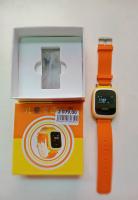 Детские часы с GPS Желтые