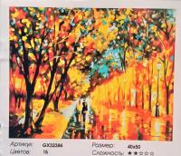 Картина по номерам Осень