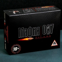"""Настольная игра """"Мафия 007"""""""