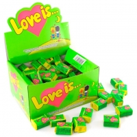 Love IS Жевательная резинка Яблоко и Лимон