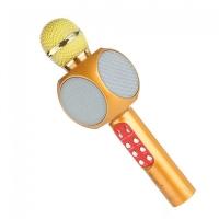 Караоке микрофон  WSTER WS-1816 золотой