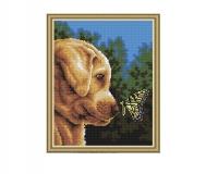 Алмазная мозаика 40х50 Собака