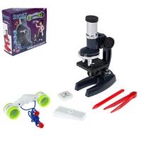 Набор биолога, микроскоп +7 предм.