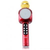 Караоке микрофон  WSTER WS-1816 красный