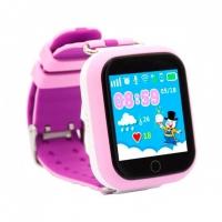 Детские часы с GPS Smart Baby Watch Q100 Розовые
