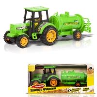 Фрикционный Трактор с прицепом: Поливочная машина