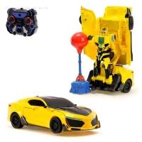 Робот-трансформер радиоуправляемый «Автобот-боксёр»
