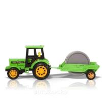 Трактор с прицепом: Дорожный каток