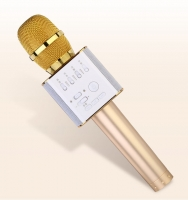 Караоке микрофон MicGeek Q9 золотой