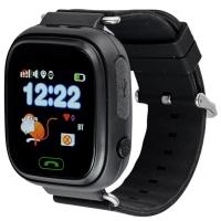 Детские часы с GPS Smart Baby Watch Q90 Черные