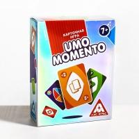 Настольная игра в сияющей упаковке «UMOmomento», 70 карт