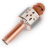 Караоке микрофон WSTER WS-858 розовый