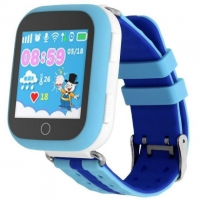 Детские часы с GPS Smart Baby Watch Q100 Голубые