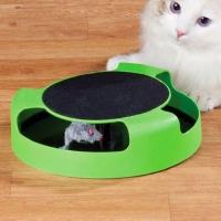 """Игрушка для кошек """"Мышь по кругу"""""""