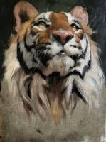 Картины по номерам 40х50 Тигр