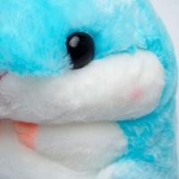 Хомяк плед голубой
