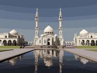 Картины по номерам 40х50 Мечеть