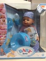 Интерактивный пупс Baby Love (8 функций)