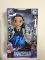 Кукла Холодное сердце Анна + снеговик 25 см