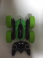 Машинка-перевертыш зеленый