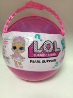 Кукла лол большой розовый шар