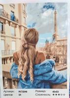 Картина по номерам Осень по французски