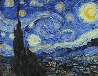 Картины по номерам 40х50 Звездная ночь