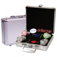 Набор для покера в алюминиевом кейсе 100 фишек