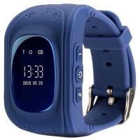 Детские часы с GPS Smart Baby Watch Q50 Синие