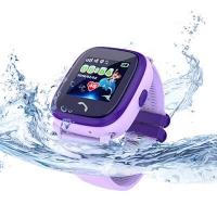 Детские умные часы с GPS Smart Baby Watch Aqua DF25 Фиолетовые