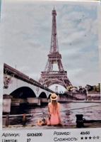 Картина по номерам Отдых у Парижского канала