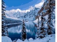 Картины по номерам 40х50 Зима